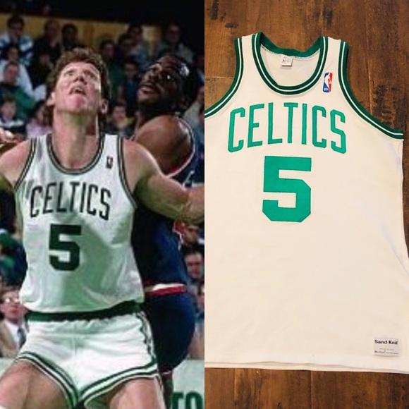 online store 978f4 40f4a Celtics jersey bill Walton nike jordan sandknit